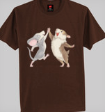 Hammy_and_City_hi_five_T-shirt